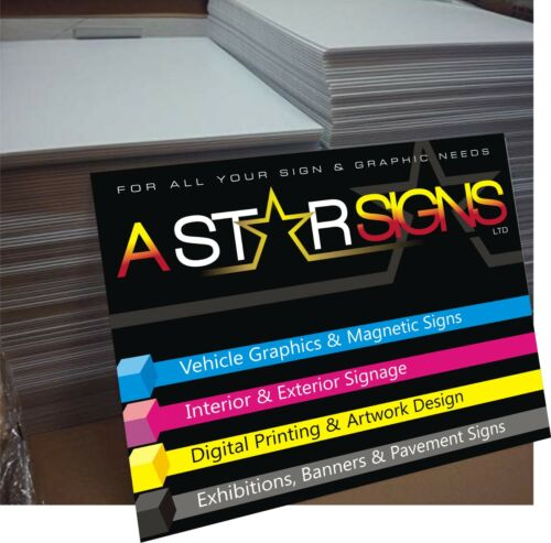 Advert Board 600mm x 800mm Full Colour printed sign board