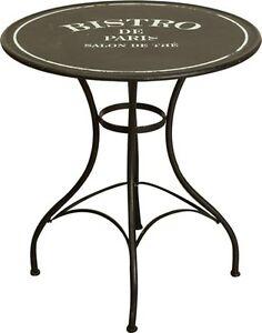 Tavolo da giardino in ferro battuto arredo esterno tavolo ferro tondo tavolino ebay - Tavolo giardino ferro battuto ...