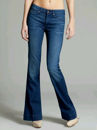 Marciano Nwt Vintage ° Rich N Guess Jean 23 Wash Taille flare By Mid 74 rExwr0qv