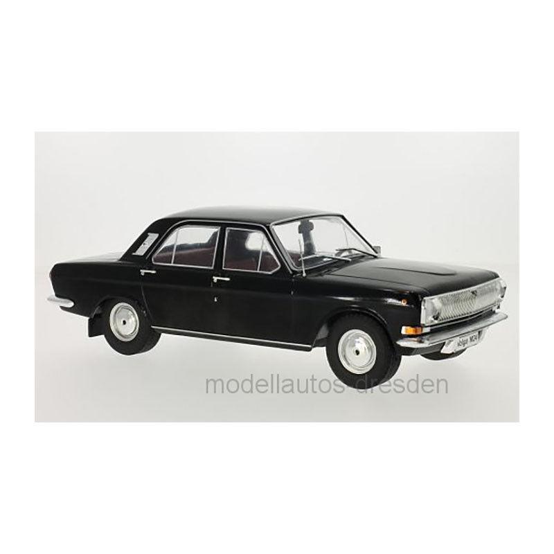 Modelcar MCG18031 Wolga M24 black Maßstab 1 18 Modellauto NEU °