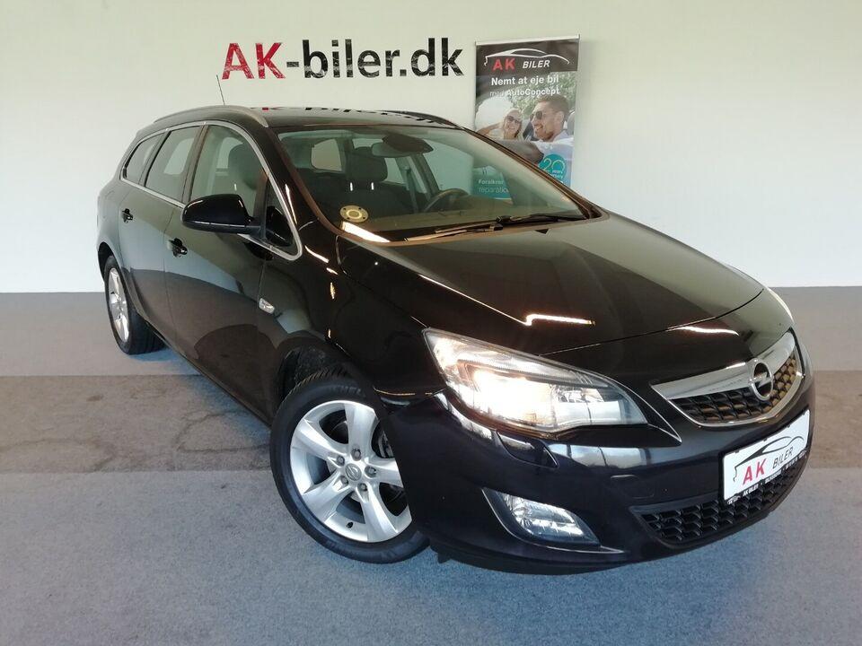 Opel Astra 1,7 CDTi 125 Sport ST Diesel modelår 2011 km