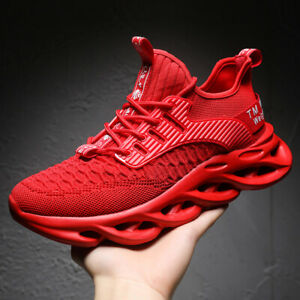 Mens casual sneakers breathable running shoes fashion  athletic sports shoes lot