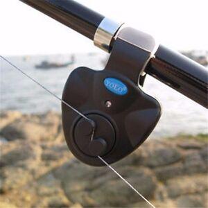 4PCS-Electronic-LED-Light-Fish-Bite-Sound-Alarm-Bell-Clip-On-Fishing-Rod