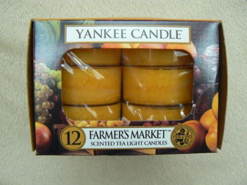 Yankee Candles Tealights Box of 12 CHOOSE YOUR OWN Made with Paraffin Wax in USA