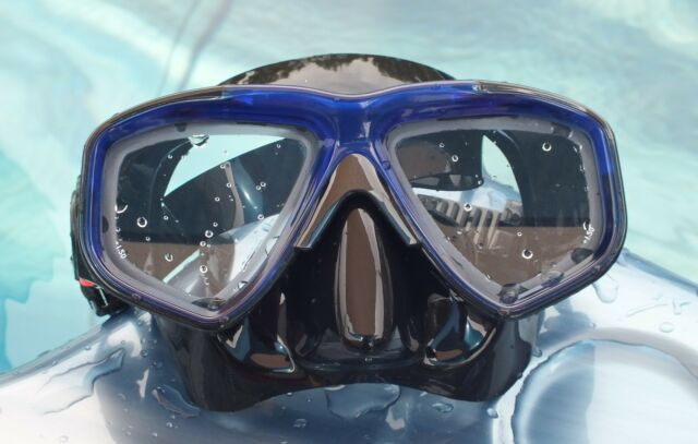 WILCOMP Scuba Diving Mask with Optical Corrective Lenses WIL-DM-50 (+1.5)