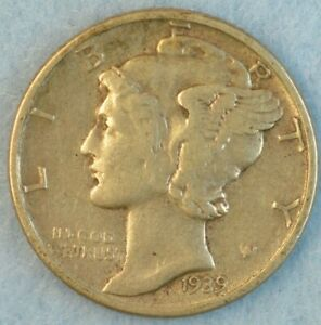 CIRCULATED-1939-P-Silver-Mercury-Dime-90-Silver-Fast-Shipping-456