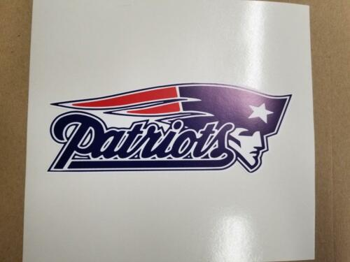 New England Patriots cornhole board or vehicle decal s