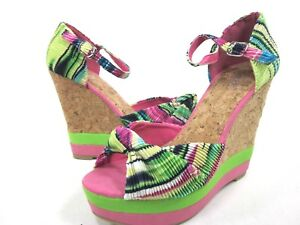 41e53db114ca Image is loading WANTED-SHOES-WOMEN-039-S-BORABORA-WEDGE-SANDALS-