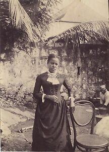 Portrait-d-une-femme-Madagascare-Vintage-albumine-ca-1885