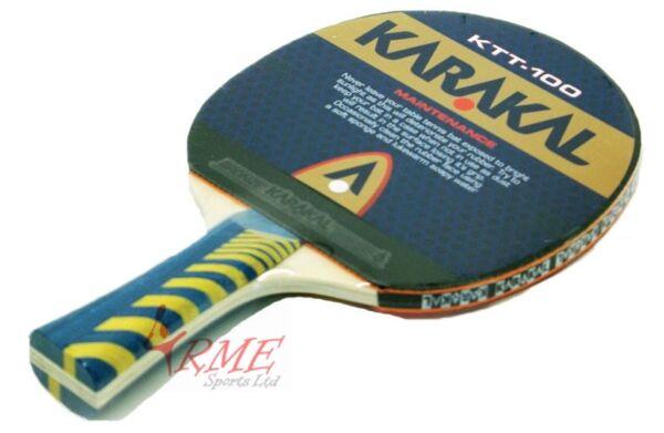 Contemplativo Karakal Ktt-100 Table Tennis Bat Con Il Miglior Servizio