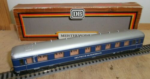 """Liliput h0 835 03 schürzenwagen /""""azul anglica/"""" 1//2//3 clase de la DB en OVP"""