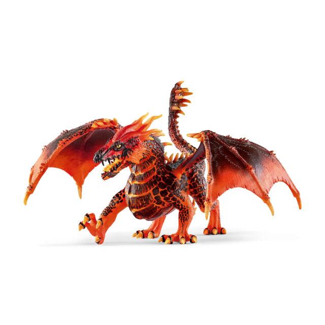 70138 SCHLEICH Lava Dragon (Eldrador) Plastic Figure