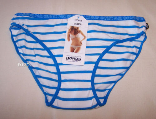 Bonds Ladies Hipster Bikini Stripe Print Design Brief New Select Colour /& Size