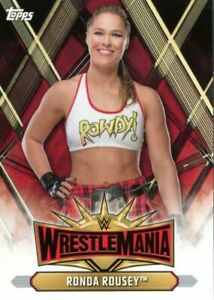 2019 Topps WWE Road To Wrestlemania Complete 150 Card Base Set