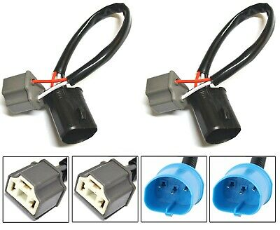 Wire Pigtail Male L 9004 HB1 Two Harness Head Light Replacement Connector Plug