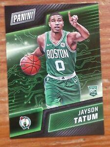 2017 Panini Cyber Monday Jayson Tatum rookie card Boston Celtics star  #40