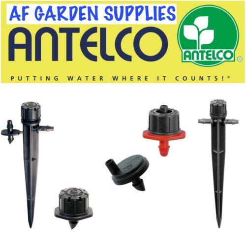 Antelco MICRO IRRIGAZIONE GOCCIOLATORI SHRUBBLER regolabile 4mm Barb GIARDINO IRRIGAZIONE