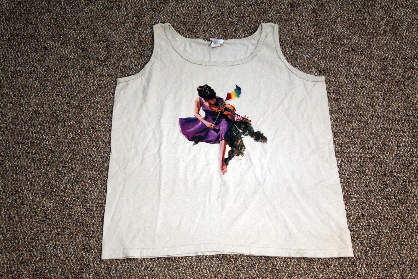 Vintage 26th Annual 1989 Telluride Blaugrass Festival Tank Top T-Shirt XL