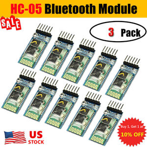 3PCS-HC-05-Wireless-Bluetooth-RF-Transceiver-Module-serial-RS232-TTL-for-Arduino
