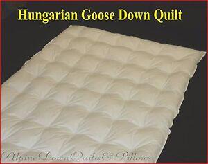 HUNGARIAN-95-GOOSE-DOWN-QUILT-SALE-SUPER-KING-SIZE-SUMMER-QUILT-2-BLANKET