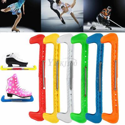 Yellow Ice Hockey Figure Skate Walking Blade Guards Protector Adjustable