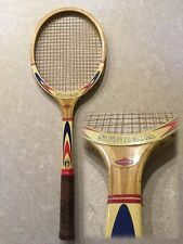 Racchetta tennis vintage MAXIMA SUPREMA In legno incordata