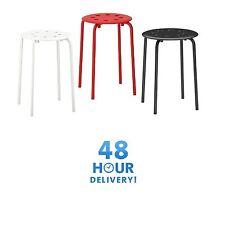 Ikea Marius Stackable Stool Breakfast Bar Dining Stool Modern Multipurpose Use