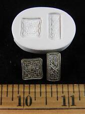 Mini Belt Buckles Polymer Clay Mold 2 in 1 Mold (#MD1122)