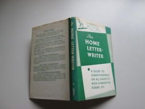Good-Business-and-Home-Letter-Writer-Dustjacket-has-been-price-clipped-Fo