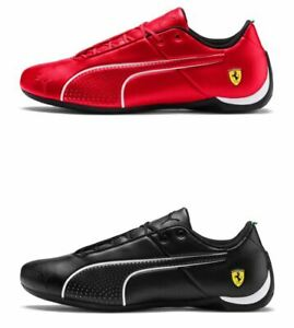 SCARPE-UOMO-PUMA-FUTURE-CAT-ULTRA-SNEAKERS-SCUDERIA-FERRARI-IN-PELLE-2019