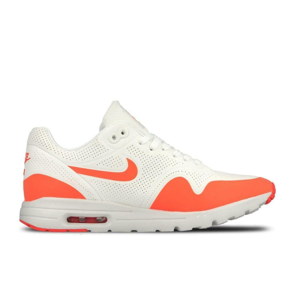 Womens NIKE AIR MAX 1 ULTRA MOIRE White Trainers 704995 103