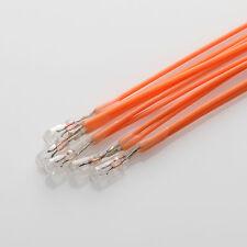 5 x 6V 40mA / Birne Lampe / Miniature Lamp Bulb / T1 / 3mm x 5mm + Kabel