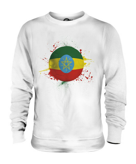 ETHIOPIA FOOTBALL UNISEX SWEATER  TOP GIFT WORLD CUP SPORT