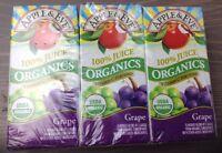 Grape Juice Apple & Eve Organics 100% Juice 6.75 Oz Box - 12 Pack