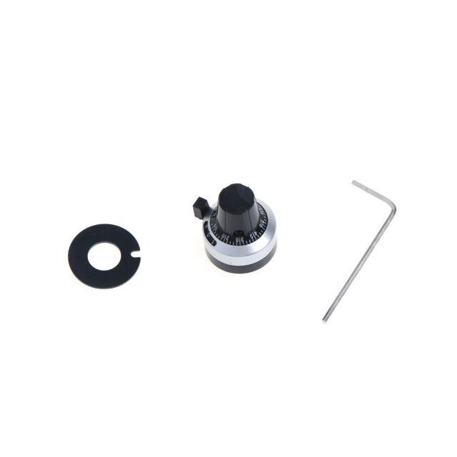 NEW 3590S 3590S 4mm 6mm 6.35mm Potentiometer Precise Dial knob lockable Hat