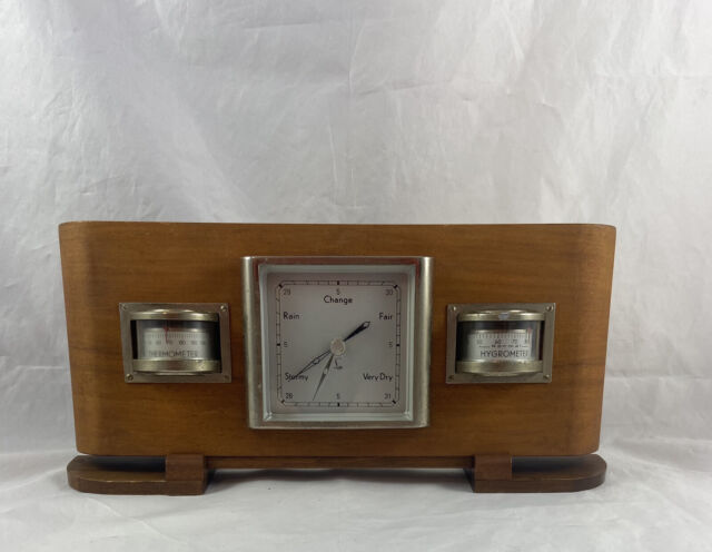 Vintage Weather Station Lufft Art Deco Made In Germany