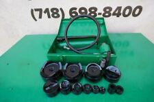 Greenlee Knock Out Hydraulic Punch And Die Set 7310 12 To 4 Inch Works Finebgg