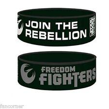 Star Wars bracelet officiel pvc SW Join the rebellion official rubber wristband