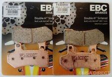 Harley Davidson Electra Glide (08 to 17) EBC Sintered FRONT Brake Pads (FA409HH)