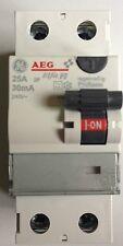 AEG FI-Schutzschalter, Fehlerstromschutzschalter 2-polig 25A/0,03 30mA 604200
