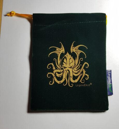 Legend Games Cthulhu Lined Dice Bags Multilisting D/&D RPG