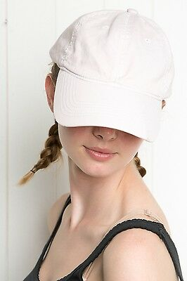 brandy melville White Katherine Peachy  baseball hat NWT Adjustable OS free gift