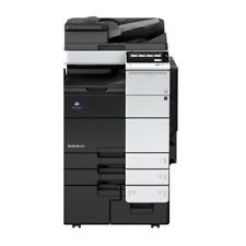 Konica Minolta Bizhub 808 Mono A3 Laser Black Amp White Printer Copier Low Usage