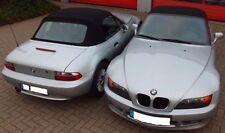 BMW Z3 Cabrio Riferimento tettuccio Materiale ottica Cappotta nero nuovo PVC