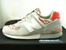 New Balance 576 Made In USA CAMO 9.5 US576CM3 grey red burn rubber 577 1600 NEW