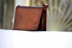 Genuine-Leather-Vintage-Laptop-Messenger-Handmade-Briefcase-Bag-Satchel