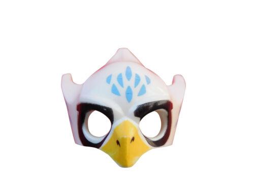 Lego 2 Stück Legends of Chima Maske Equila Adler Helm in weiss Neu Vogel loc010
