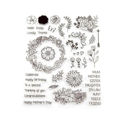 Diy Transparent Silicone Clear Stamp Seal Album Decora Cling Scrapbook Embossing
