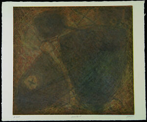 DDR-Kunst-Informel-A-260-1989-Unikatdruck-Ralf-KLEMENT-1950-D-handsigniert