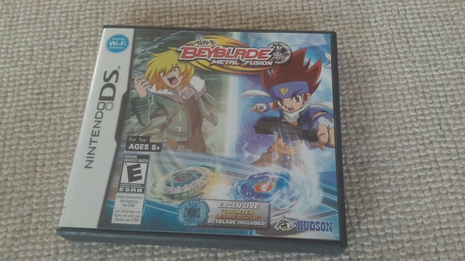 Beyblade Metal Fusion, Nintendo DS, action